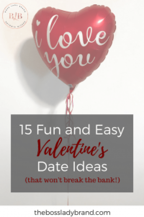 These are 15 fun and easy date ideas! These can be date ideas for Valentine's day or all year round. These date ideas are also affordable and won't break the bank!