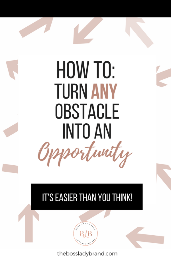 Have you ever experienced an obstacle in your career or in life? I'm guessing your answer is yes. I share 8 Tips on how to turn any obstacle into an opportunity. Are you ready to get out of a rut and change your situation? Read more!