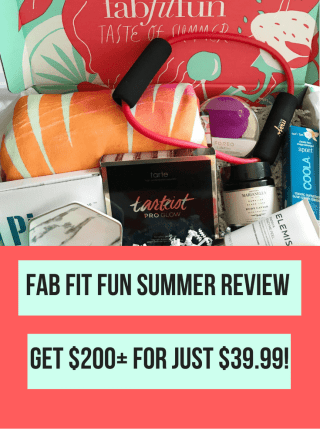 Is the FabFitFun Box worth it? Summer 2018 Review
