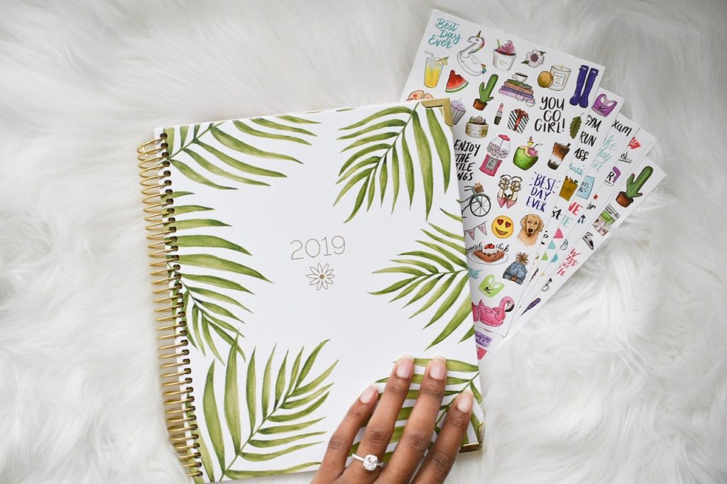 Bloom Daily Planner and ring
