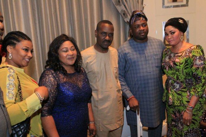 Ibidun Ighodalo, Mrs. Afolabi , Pastor Ituah Ighodalo & H.R.H Oba Rasheed Elegushi & Olori (2)