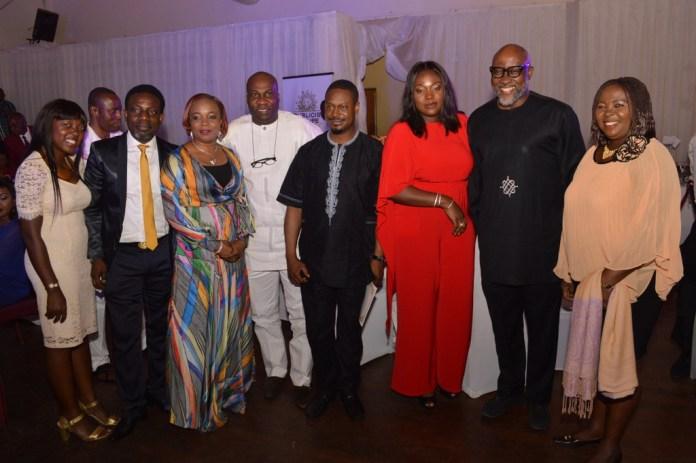Mr.& Mrs. Adebowale, Michael Effiong, Bolaji Okunuga,(MD Quadrant) Mrs. Tosin Adefeko, Ade Adefeko & Mrs. Ada Adheke