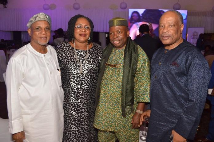 Mr. & Mrs. Biodun Shobanjo, Mr. Dele Fajemirokun