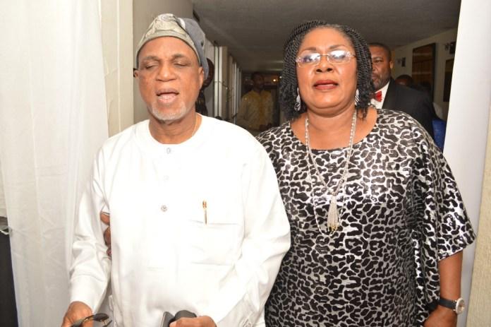Mr. & Mrs. Biodun Shobanjo