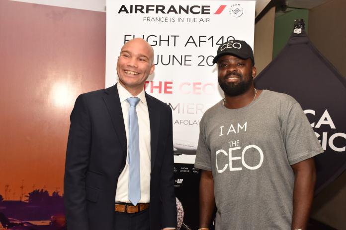 Air France Commercial Director, Arthur Dieffenthaler & Actor,MD/CEO, Golden Effect, Kunle Afolayan