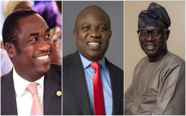 Image result for Sanwo-olu, Hamzat Deputy, Gets Ambode's Endorsement As Lagos State Next Governor (picture)
