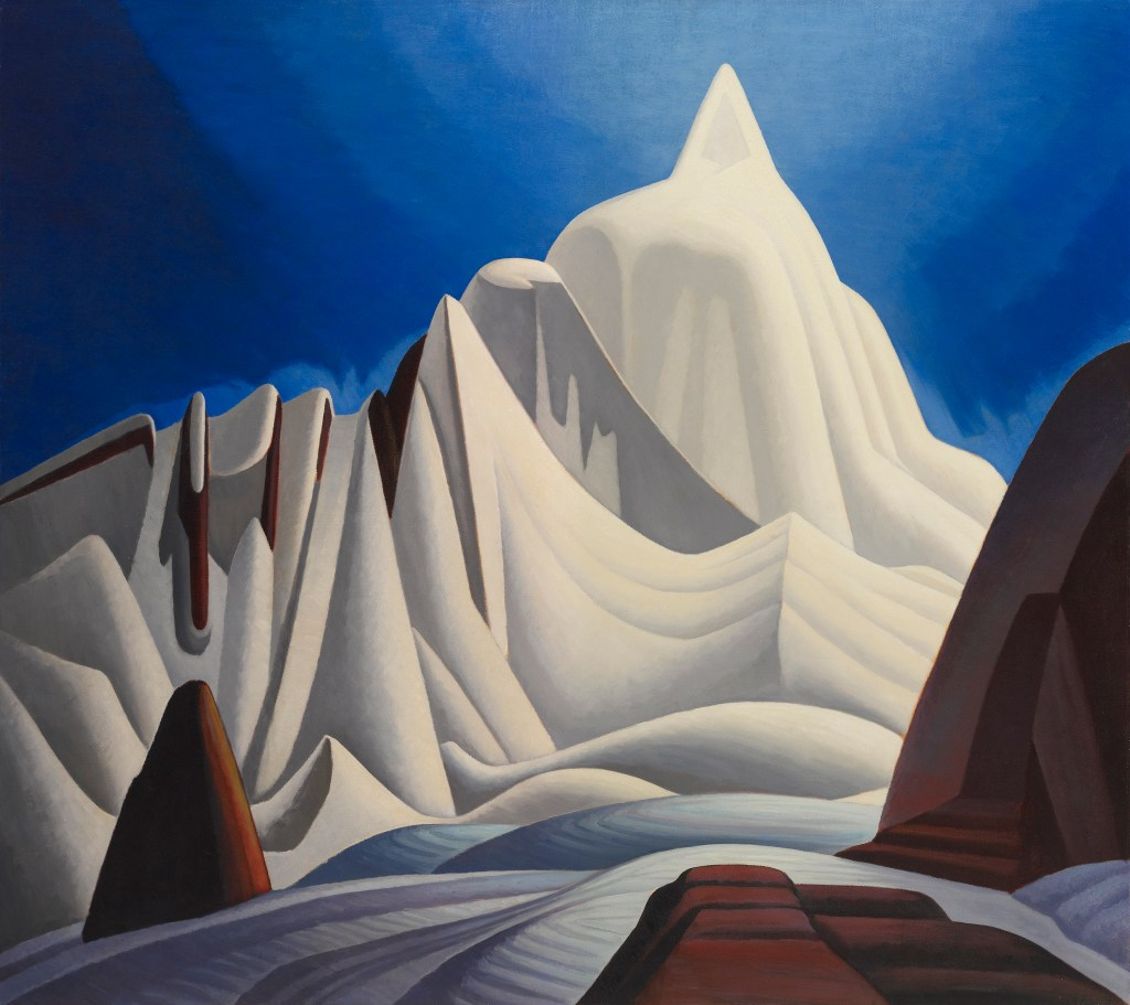 Mountains in Snow: Rocky Mountain Paintings VII Lawren Harris (Canadian, 1885–1970) About 1929 Oil on canvas * The Thomson Collection at the Art Gallery of Ontario * © Art Gallery of Ontario *© Family of Lawren S. Harris *Courtesy Museum of Fine Arts, Boston