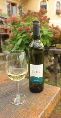 The Sauvignon from Hlebec Winery