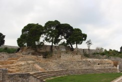 It was like we were stepping back in time at the Roman Theatre.