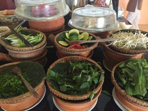 The breakfast buffet at Anantara