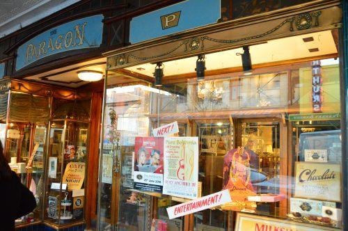 exterior of the paragon cafe katoomba