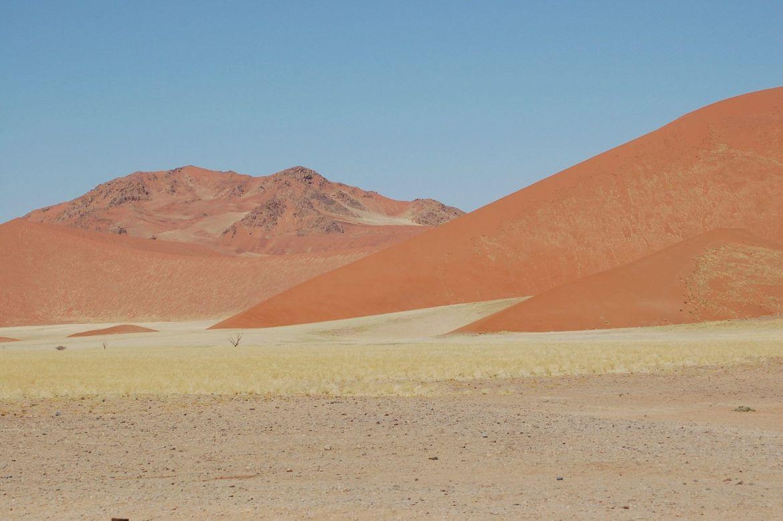 sand dunes sossusvlei namibia