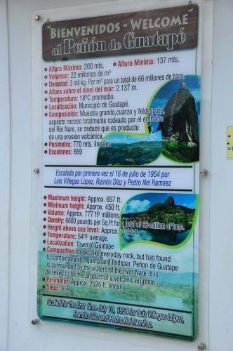 instruction sheet for Piedra Penon Colombi