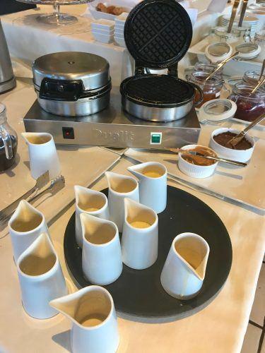 waffle iron and waffle mix hotel ranga iceland