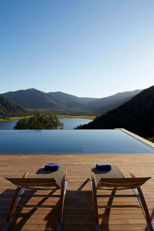 Vik Chile Millahue Valley swimming pool