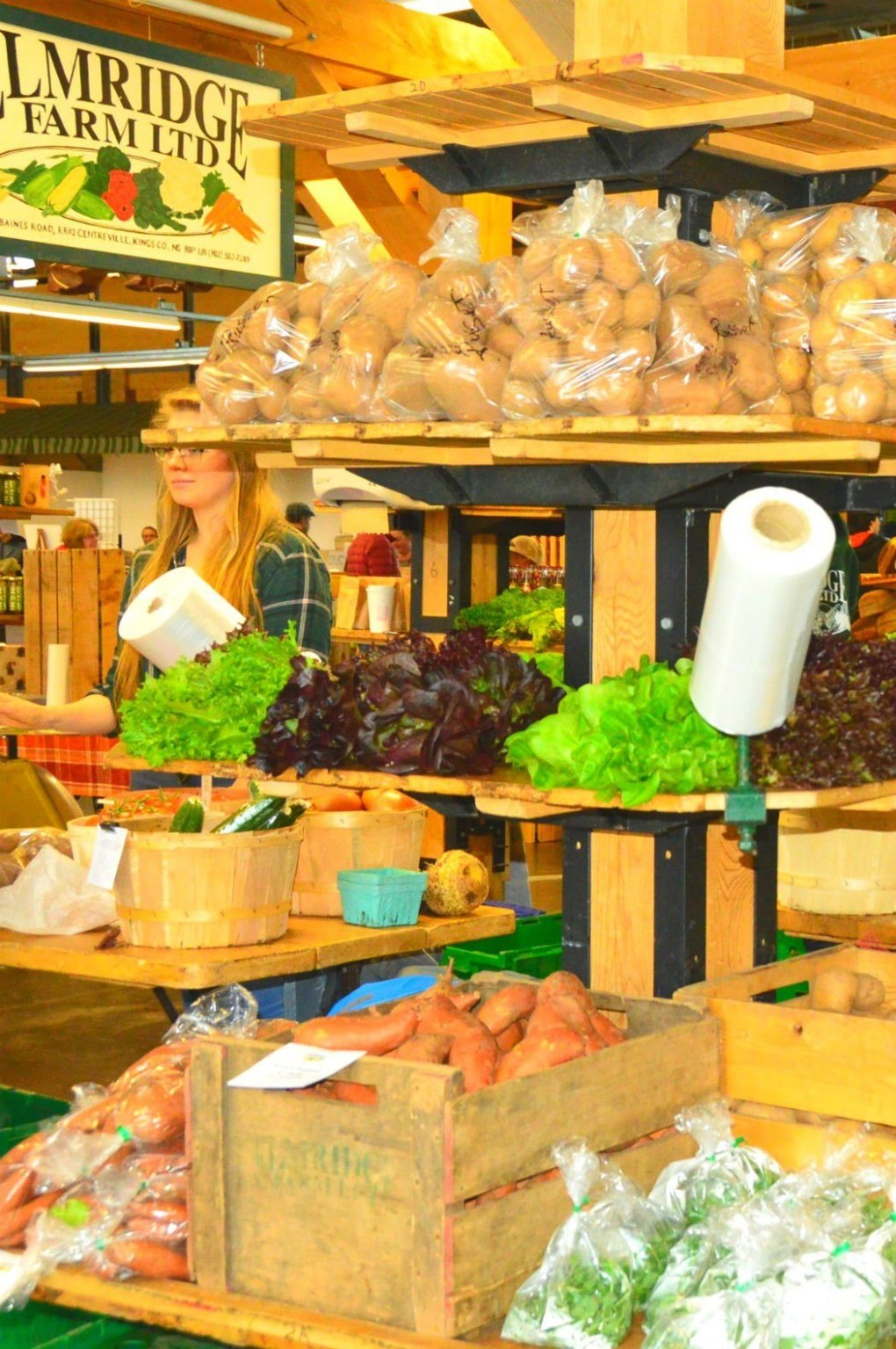 Elmridge Farms fresh produce at Halifax market
