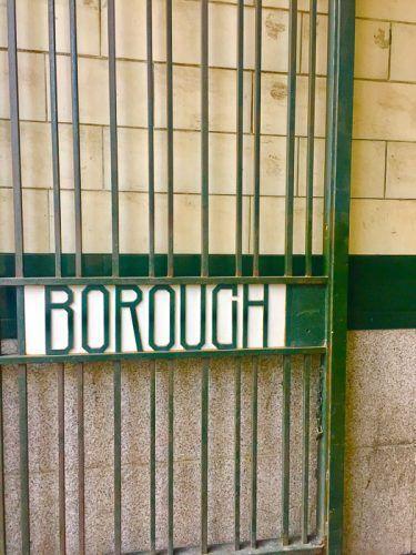 borough market food tour