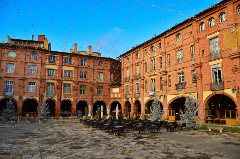 Montauban main square tarn et garonne