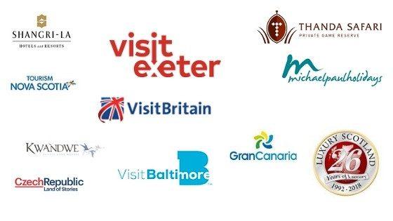 logos of tourism destinations