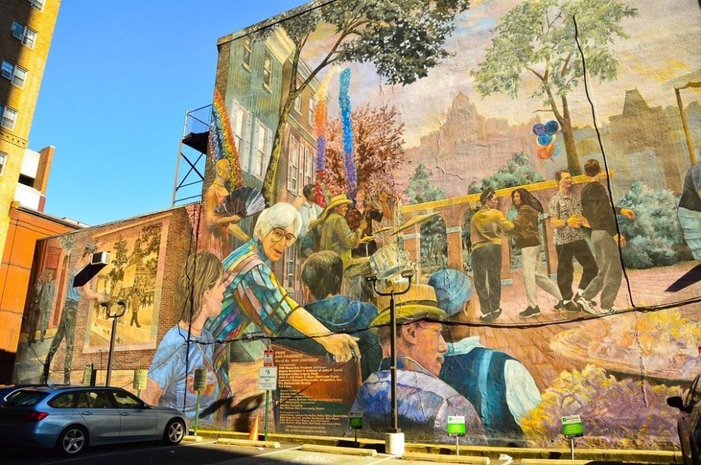 street art mural in philadelphia