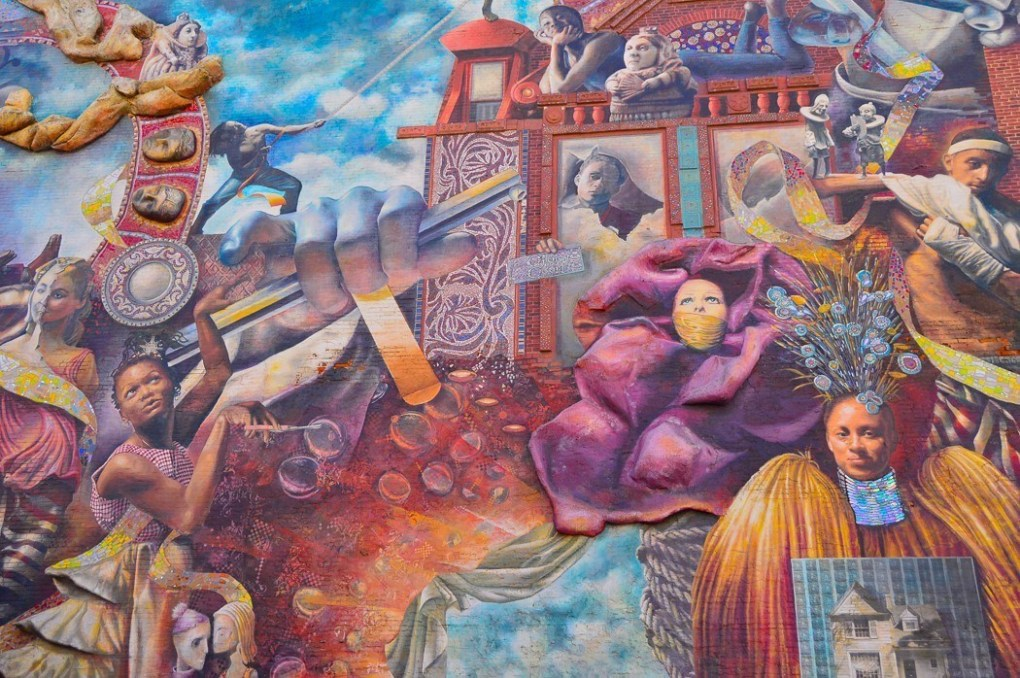 places to visit in philadelphia - mural art