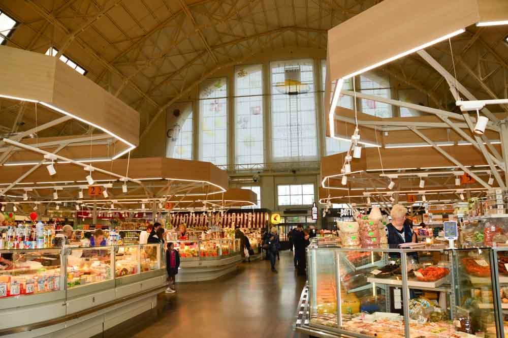 Riga Central Market Hall