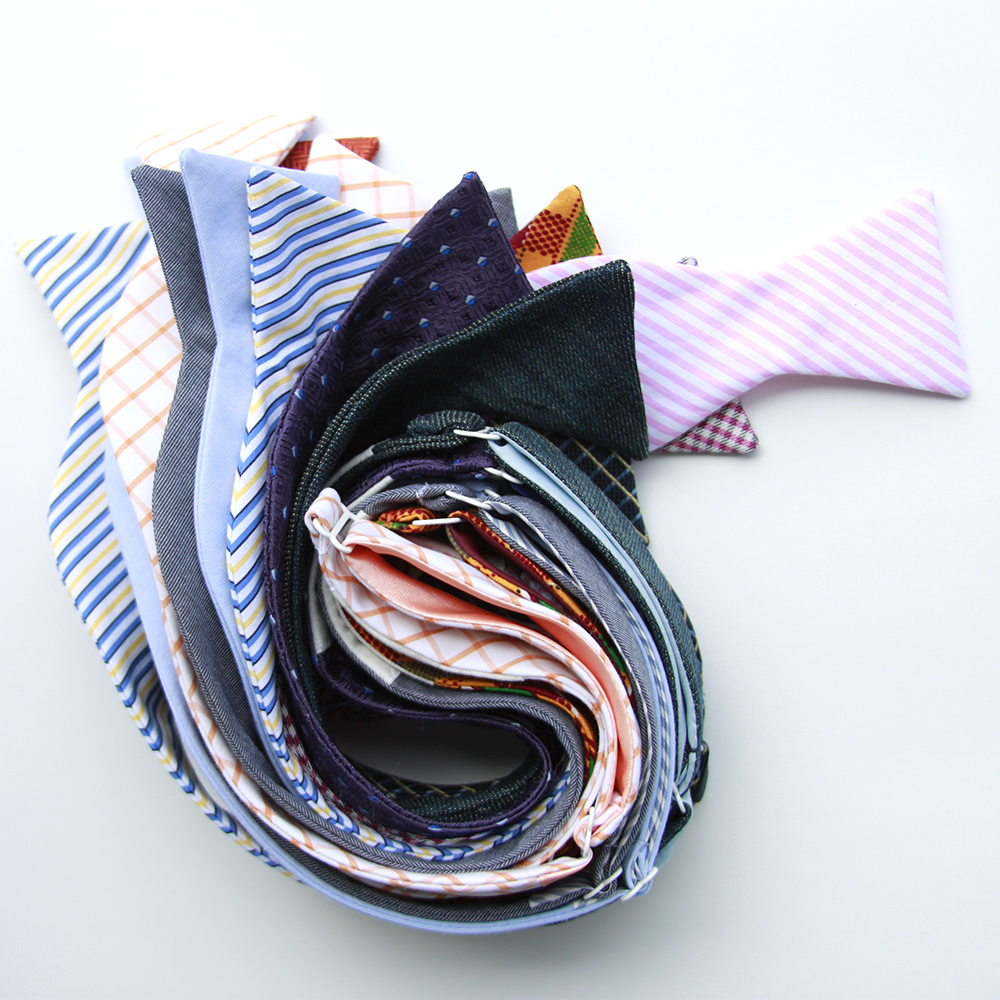 Picture of the original bow tie collection