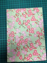 Student work term 1, 2014, japanese stab sewing