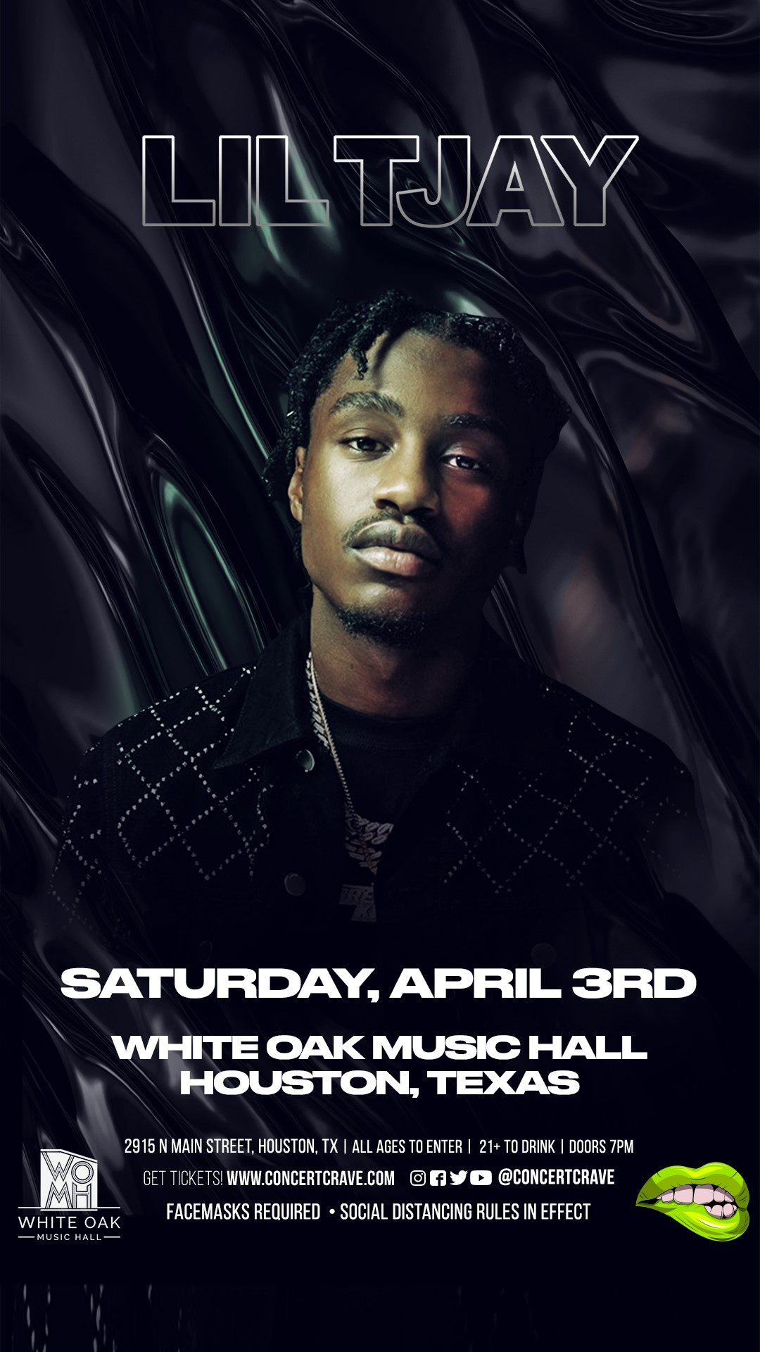 lil tjay to perform at white oak music