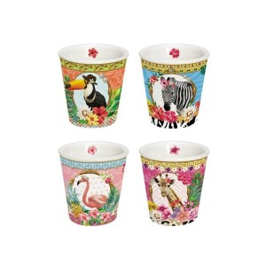 Fancy Animals espresso cups