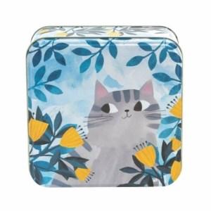 Planet Cat middelgrote blikken doos