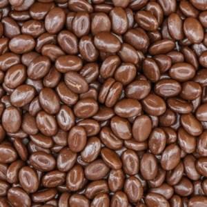 Melkchocolade koffiebonen