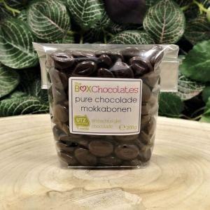Pure chocolade mokkabonen 200g
