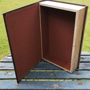 Opbergboek boekendoos XL Adventure achterkant