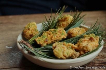 Buttermilk Fried Chicken(@ Upstairs at the Ten Bells - London)