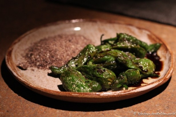 Fried Padron Peppers