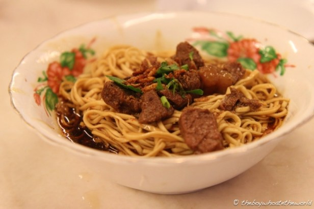Dry Beef Noodles