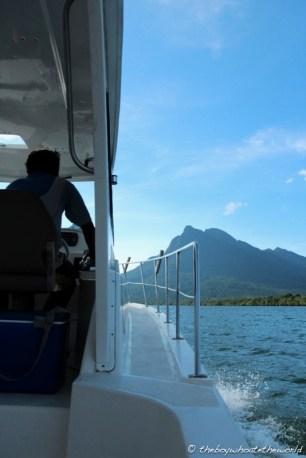 Cruisin' along the Santubong River