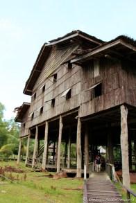 Melanau (Coastal tribe) House