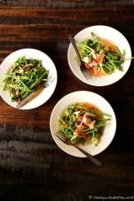 'Midin Kerabu' (Jungle Fern salad)