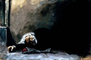 painting by fabian perez