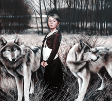 painting woman Gerard Burns