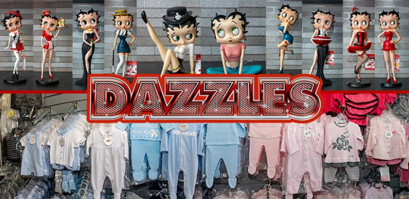 Gifts on sale at Dazzles of Cleveleys