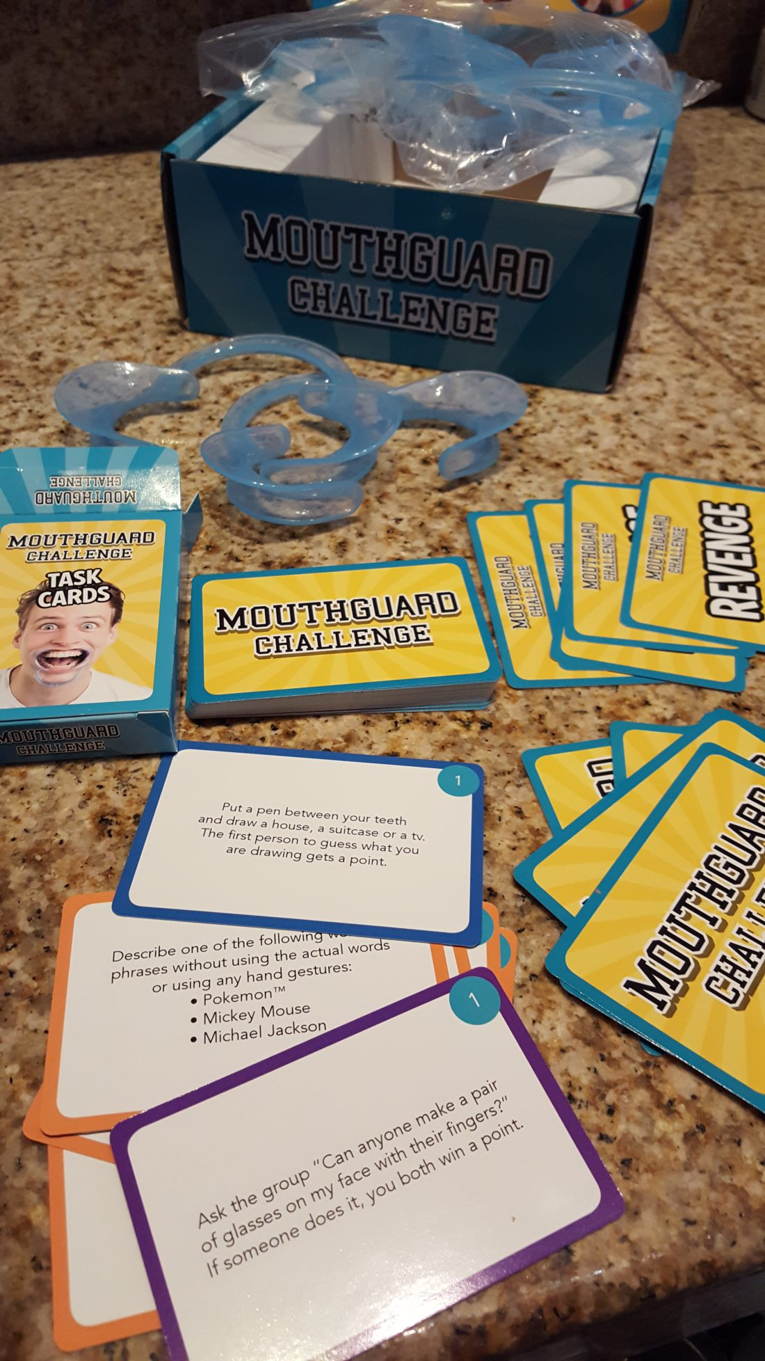 Mouthguard Challenge Phrases : mouthguard, challenge, phrases, Worthy, Christmas}, Hilarious, Mouthguard, Challenge, Makes, Perfect, Holiday, Gift!