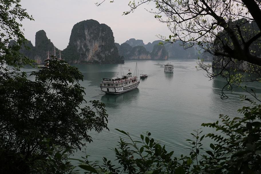 """3-tägige Bootsfahrt durch die """"Bai Tu Long Bay"""""""