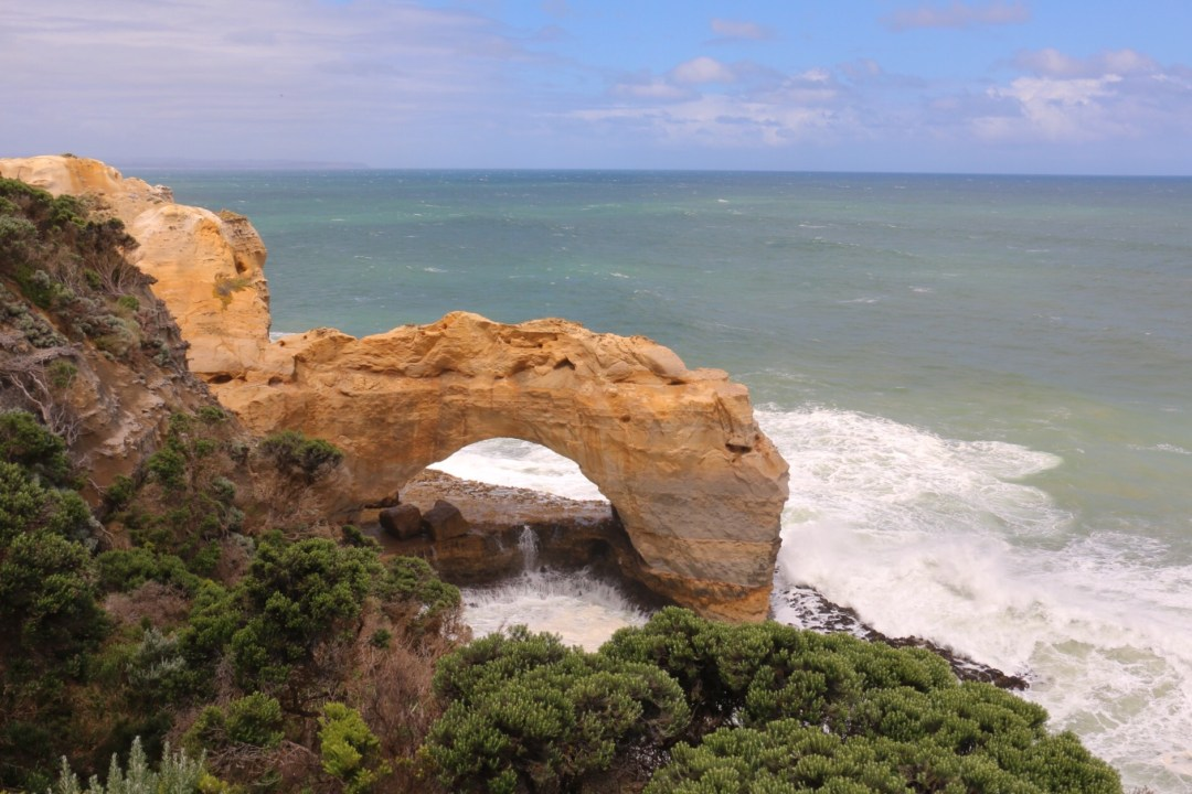 Great Ocean Road | The Arch | thebraidedgirl