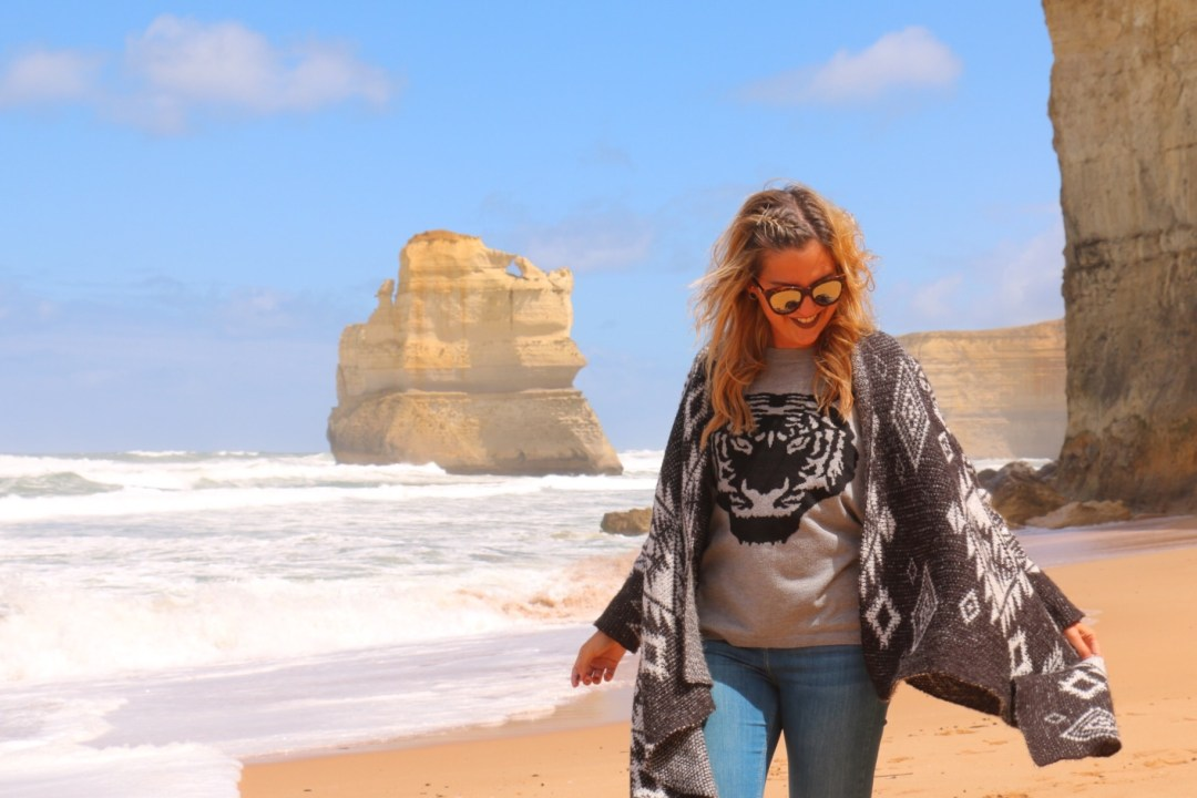 Great Ocean Road | Gibson Steps | thebraidedgirl