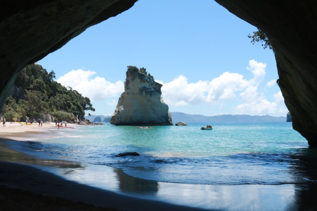 Cathedral Cove | thebraidedgirl