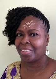 side cornrow with weave hairstyles