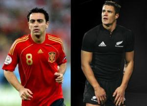 Players such as Xavi and Dan Carter are notorious for quick, incisive actions that are beyond that of many of their contemporaries.